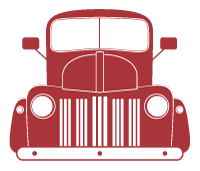 Big Red Truck Icon