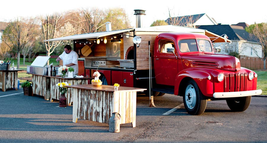 True Crafted Catering Truck Event